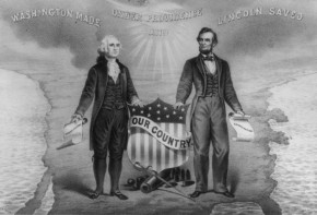 Washington and Lincoln on Thanksgiving