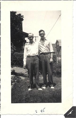 William Cornelius and my Grandfather Robert