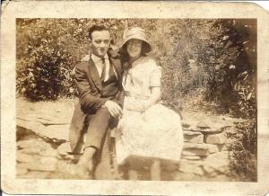 William Cornelius Brown and his wife Alice