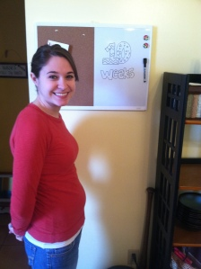 My wife Sara and the newest Brown at week 10