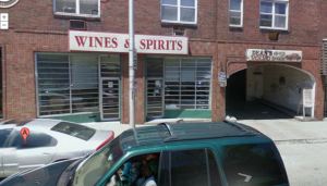 Wines and Spirits down the street from my apartment