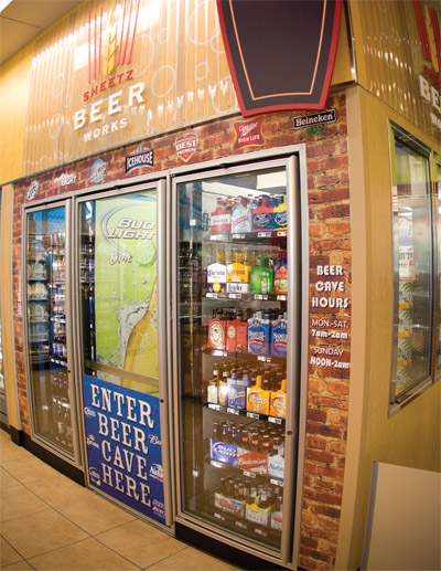Sheetz Beer Cave (don't call it a Soda Cave anymore)